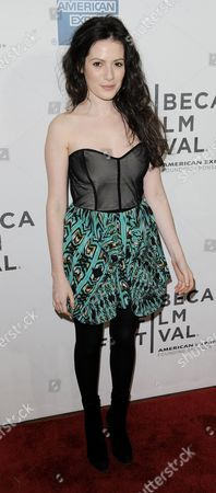 Actress Aleska Palladino of the Us Arrives For the Premiere of the Film 'The Bang Bang Club' at the Tribeca Film Festival in New York New York Usa on 21 April 2011 the Tribeca Film Festival Runs Through 01 May 2011 United States New York