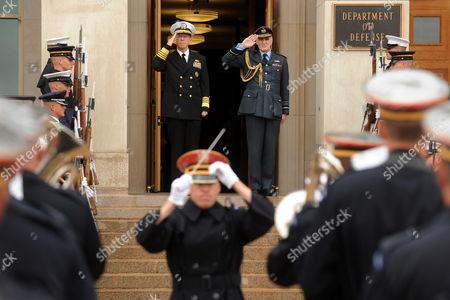 Editorial photo of Usa Uk Defense Diplomacy - Oct 2010