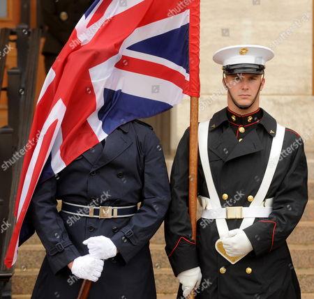 Editorial image of Usa Uk Defense Diplomacy - Oct 2010