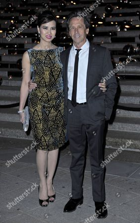 Stock Image of Producer Brian Grazer (l) and Chau-giang Thi Nguyen Attend the Vanity Fair Party For the 2011 Tribeca Film Festival in New York Usa 27 April 2011 the Tribeca Film Festival Runs Through 01 May 2011 United States New York