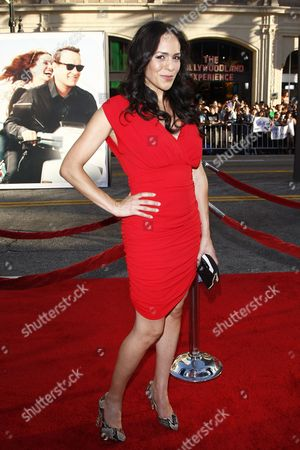 Stock Picture of Us Actress Roxana Ortega Arrives For the World Premiere of Universal Pictures 'Larry Crown' at the Grauman's Chinese Theater in Los Angeles California Usa 27 June 2011 the Movie is About a Middle-aged Man who Reinvents Himself After Losing His Job by Going Back to College 'Larry Crowne' Will Be Released on 01 July 2011 United States Los Angeles