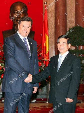 Editorial image of Vietnam Ukraine Diplomacy - Mar 2011