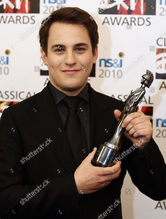British Violinist Jack Liebeck Wins the Young British Classical Performer Award at the Classical Brit Awards Held at the Royal Albert Hall London Great Britain 13 May 2010 United Kingdom London