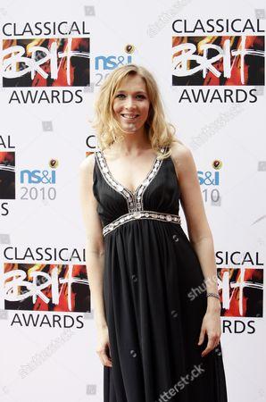 Welsh Operatic Soprano Natasha Marsh Appears on the Red Carpet at the Classical Brit Awards Held at the Royal Albert Hall London Britain 13 May 2010 United Kingdom London