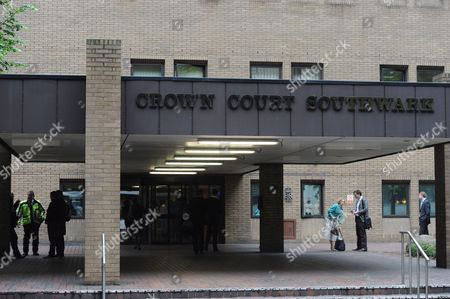 Stock Picture of Southwark Crown Court where British Members of Parliament (mp) Jim Devine Elliot Morley and David Chaytor to Arrive in South London For a Hearing Britain 27 May 2010 They Are to Defend Themselves Against Allegations of Misusing Their Mp's Expenses Allowance United Kingdom London