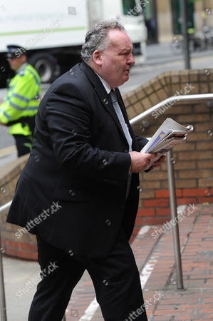 British Member of Parliament (mp) Jim Devine Arrives at Southwark Crown Court in South London For a Hearing Britain 27 May 2010 He is Defending Himself Against Allegations of Misusing His Mp's Expenses Allowance United Kingdom London