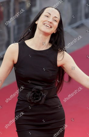 French Actress Julie Dreyfus ('kill Bill') Arrives to the 33rd American Film Festival of Deauville in Deauville France 06 September 2007