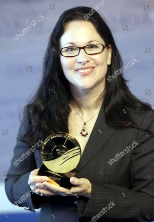 Us Director Karen Moncrieff Received the Grand Prize During a Photocall at the 33rd American Film Festival of Deauville in Deauville France 09 September 2007