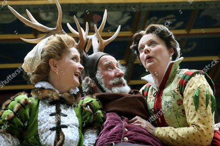 Editorial picture of 'The Merry Wives of Windsor' play at the Globe Theatre, London, Britain - 11 Jun 2008