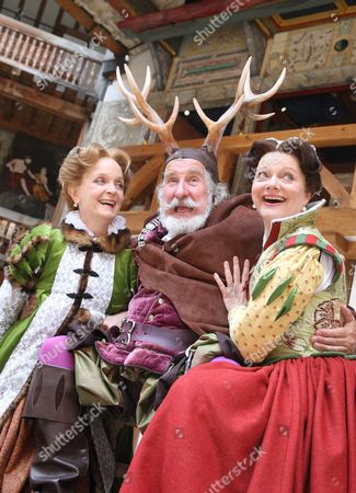 'The Merry Wives of Windsor'  - Serena Evans (Mistress Page) Christopher Benjamin (Falstaff) Sarah Woodward (Mistress Ford)
