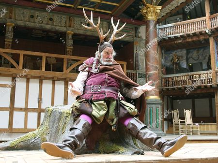 Editorial image of 'The Merry Wives of Windsor' play at the Globe Theatre, London, Britain - 11 Jun 2008
