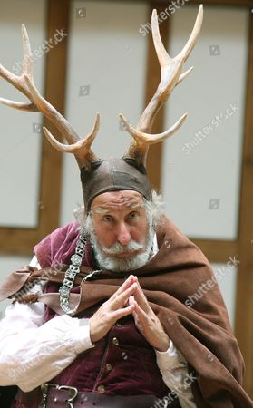 Stock Photo of 'The Merry Wives of Windsor'  - Christopher Benjamin  (Falstaff)