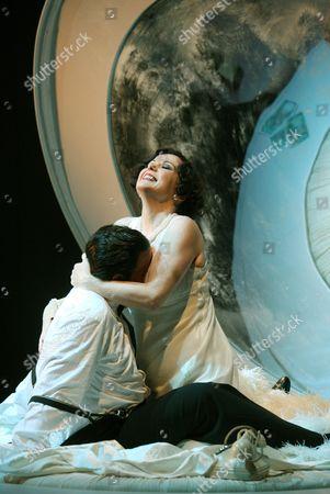 Editorial photo of 'Powder Her Face' opera performed at the Linbury Studio, Royal Opera House, London, Britain - 09 Jun 2008