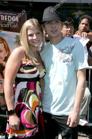 Max Thierot and girlfriend
