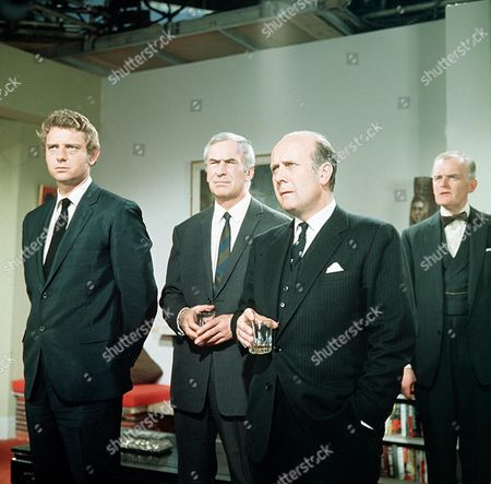 'The Saint' TV - 1968 - The Scales of Justice - Mark Burns, Ronald Leigh-Hunt, Geoffrey Chater, John Barron
