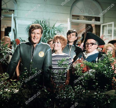 'The Saint' TV - 1969 - The Ex-King of Diamonds - Roger Moore, Isla Blair, Stuart Damon, Ronald Radd