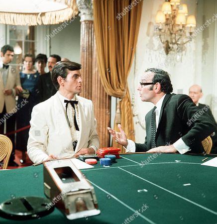 'The Saint' TV - 1969 - The Ex-King of Diamonds - Stuart Damon (left)