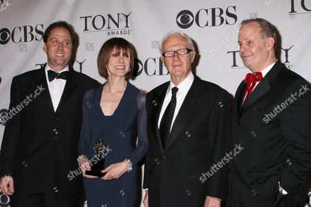 Stock Picture of Steve Traxler, Jean Doumanian, Jerry Frankel, Jeffrey Richards