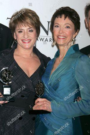 Patti LuPone and Deanna Dunagan