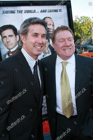 Stock Photo of Diector Peter Segal & Producer Michael Ewing