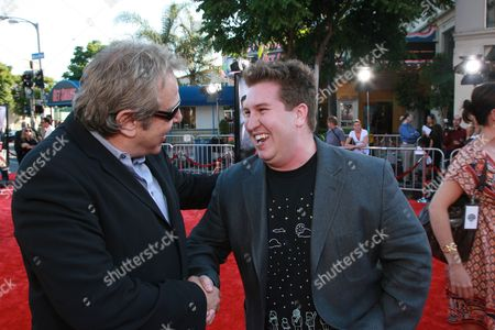 Producer Charles Roven and Nate Torrence