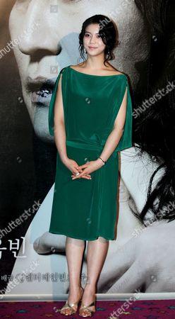 South Korean Actress Kim Ok-bin During 'Thirst 2009' South Korea Premiere at Yongsan Cgv in Seoul South Korea 24 April 2009 the Film Will Open On April 30 in South Korea