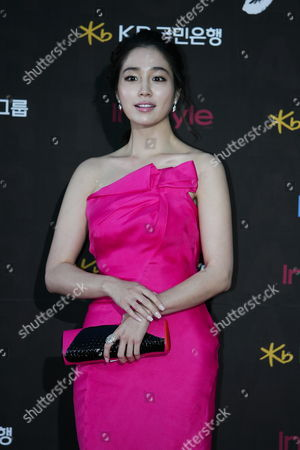 South Korean Actress Lee Min-jung Arrives For the 47th Annual Baeksang Art Awards at the Kyunghee University in Seoul South Korea 26 May 2011 Korea, Republic of Seoul