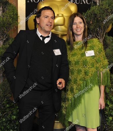Us Director David O Russell (l) and Pamela Martin (r) Arrive For the 83rd Academy Awards Nominees Luncheon in Beverly Hills California Usa 07 February 2011 Russell is Nominated For Best Directing and Martin Best Film Editing For 'The Fighter' United States Beverly Hills