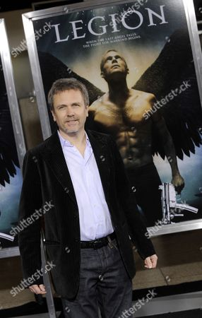 Us Composer John Frizzell Arrives For the 'Legion' World Premiere in Los Angeles California Usa 21 January 2010 'Legion' is the Story of a Terrifying Vision of the Apocalypse United States Los Angeles