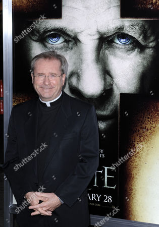 Father Gary Thomas Arrives For the World Premiere of 'The Rite' in Hollywood California Usa 26 January 2011 'The Rite' is a Supernatural Thriller Based on a True Events That Uncovers the Devil's Reach to Even One of the Holiest Places on Earth United States Hollywood