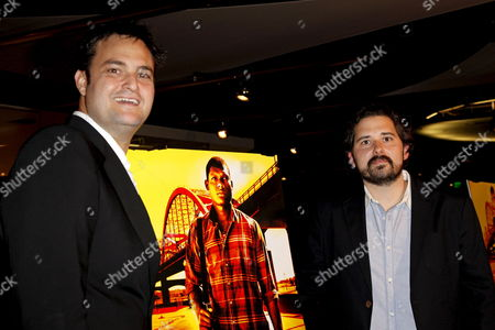 Us Producers Jamie Patricof (l) and Jeremy Kipp Walker Arrive at Their Los Angeles Premiere of 'Sugar' Held at the Silver Screen Theater at the Pacific Design Center in West Hollywood Los Angeles California Usa 18 March 2009 the Film is About Dominican Baseball Star Miguel 'Sugar' Santos Who is Recruited to Play in the U S Minor-leagues