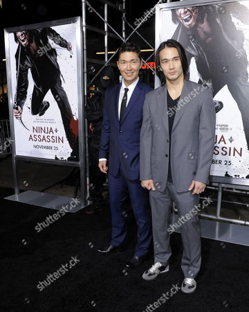Us Actor and Cast Member Rick Yune (l) and Brother Us Actor Karl Yune (r) Arrive For the Premiere of 'Ninja Assassin' in Los Angeles California Usa 19 November 2009 Rick Yune Plays the Role of 'Takeshi' in This Story of an Assassin Trained by a Secret Society and the Revenge He Exacts After the Society Executes His Friend United States Los Angeles