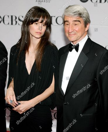 Actor Sam Waterson (r) and His Daughter Katherine Waterston Arrive For the 61st Annual Tony Awards at Radio City Music Hall in New York New York On 10 June 2007