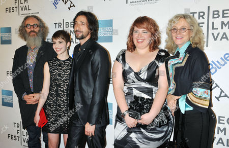 A Photo Made Available on 26 April 2011 Shows (l-r) British-born Director Tony Kaye Actors Sami Gayle Adrien Brody Betty Kaye and Blythe Danner of the Us Arriving For the Premiere of the Film 'Detachment' During the 2011 Tribeca Film Festival in New York Usa 25 April 2011 the Tribeca Film Festival Runs Through 01 May 2011 United States New York