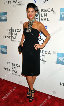'Miss Usa' Rima Fakih Arrives For the Premiere of the Film 'Last Night' at the Tribeca Film Festival in New York New York Usa on 25 April 2011 the Tribeca Film Festival Runs Through 01 May 2011 United States New York