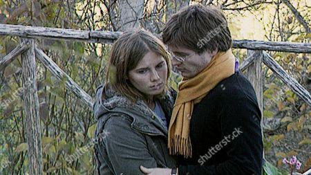 from left: Amanda Knox, Raffaele Sollecito