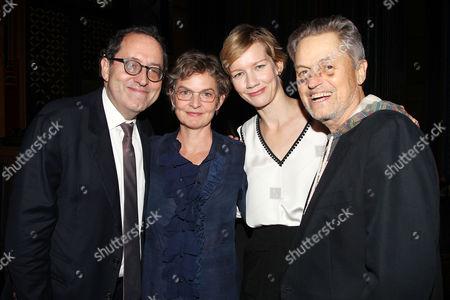 Stock Photo of Michael Barker, Joanne Howard, Sandra Huller and Jonathan Demme