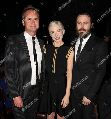 Roy Price, Michelle Williams and Casey Affleck