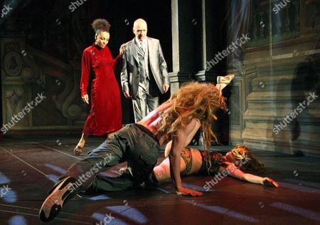 'The Revenger's Tragedy' - Adjoa Andoh ( Duchess )  Ken Bones ( The Duke )  Donatella Cabras  Rob McNeill