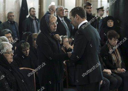 Dmitry Medvedev and Marina Karlova