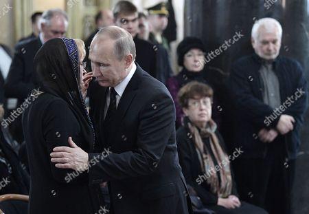 Vladimir Putin and Marina Karlova