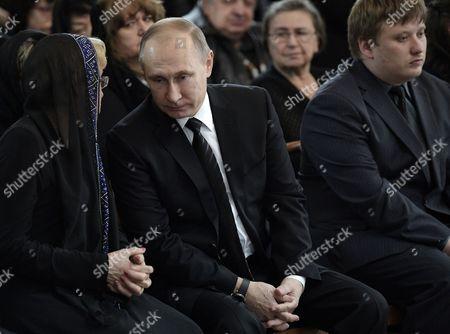Vladimir Putin, Marina Karlova and Gennady Karlov