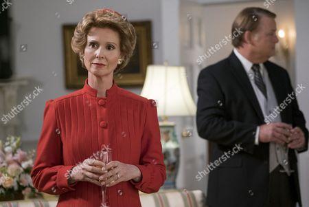 Stock Photo of Cynthia Nixon as (Nancy Reagan)