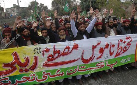 Editorial photo of Blasphemy, Rawalpindi, Pakistan - 04 Jan 2017