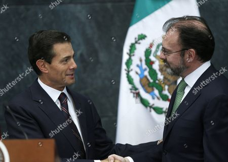 Editorial photo of New Mexican Foreign Minister, Mexico City - 04 Jan 2017