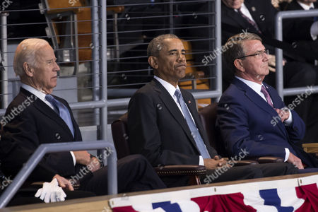 Barack Obama, Ashton Carter and Joe Biden