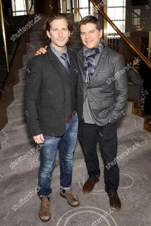 Aaron Ryder, Dan Levine (Producers Arrival)