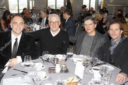 Guest, David Linde (Producer Arrival), Dan Levine, Aaron Ryder