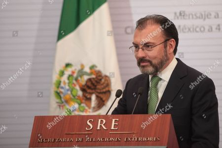 Editorial image of New Minister of Foreign Affair of Mexico Luis Videgaray, Mexico City - 04 Jan 2017