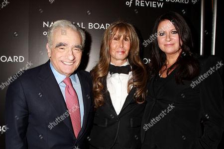 Stock Photo of Martin Scorsese, Annie Schulhof, Emma Koskoff Tillinger